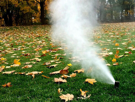 Winterize Your Sprinkler Before It's Too Late!