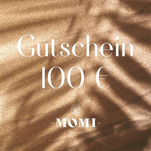 Gutschein 100EUR