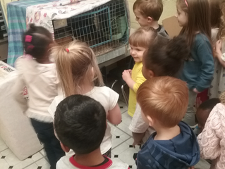 Our Li'l Tykes get li'l bunnies of their own!