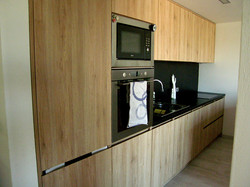 Kuchyň PRAHA - boční pohled