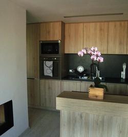 Kuchyň PRAHA - pohled lednice