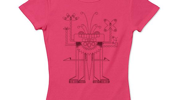 毘沙門天「Bishamonten」Tシャツの複製