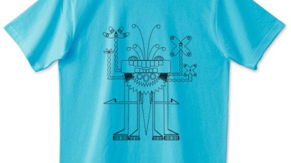 毘沙門天「Bishamonten」Tシャツ