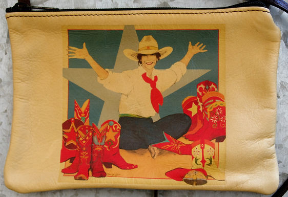 """Purse, """"Soul Searching: The World at Her Feet"""" (Horizontal)"""