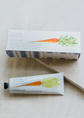 The Cottage Greenhouse Carrot & Neroli Hand Creme