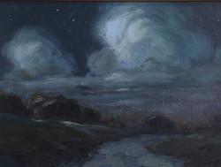 Moonlit Road II