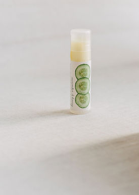 The Cottage Greenhouse Cucumber and Honey Lip Butter