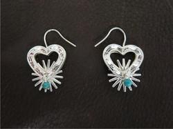 Sterling Spur Earrings