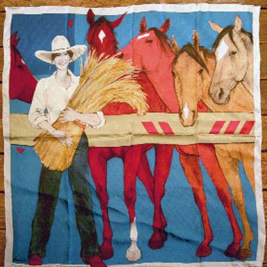 """""""Stand by the Girls"""",  Scarf"""
