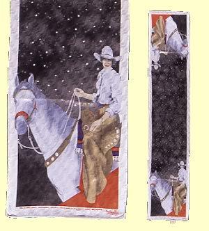 """Midnight Ride"", Scarf"