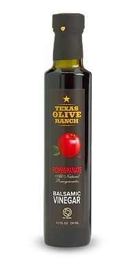 Texas Olive Ranch, Pomegranate Infused Red Balsamic Vinegar