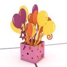 Lovepop: Balloon Bouquet Birthday Card