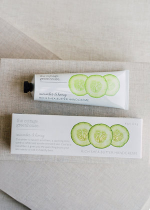 The Cottage Greenhouse Cucumber & Honey Hand Creme