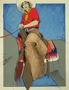 Postcard Cowgirl  1995