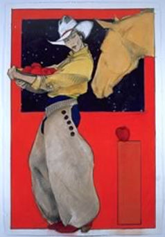 """Apples for the Yellow Mare, 30"""" x 20"""""""