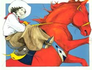 Red Horse Rider 1990