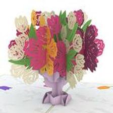 Lovepop: Tulip Bouquet Popup Card