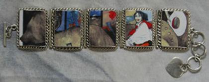 Legends, Sterling Silver Bracelet