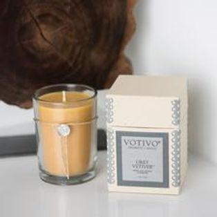 Votivo Aromatic Candle Grey Vetiver