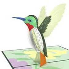 Lovepop: Hummingbird 3D Card