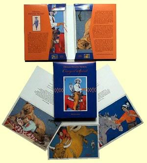 """""""Cowgirl Spirit"""", Box of Cards, 3 each of 4 images"""