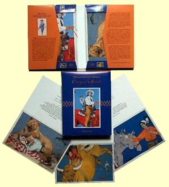 """Cowgirl Spirit"", Box of Cards, 3 each of 4 images"