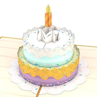 Lovepop: Happy Birthday Cake Popup Card