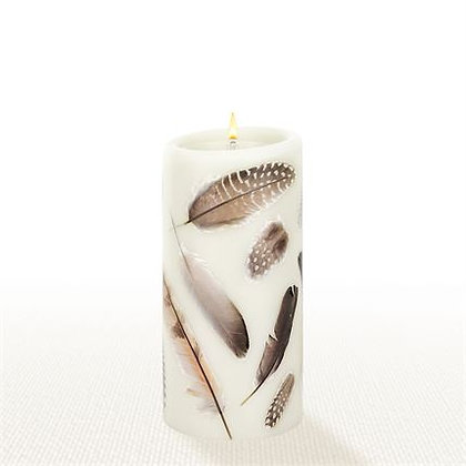"Lucid Forever Candle 6"" Feather"