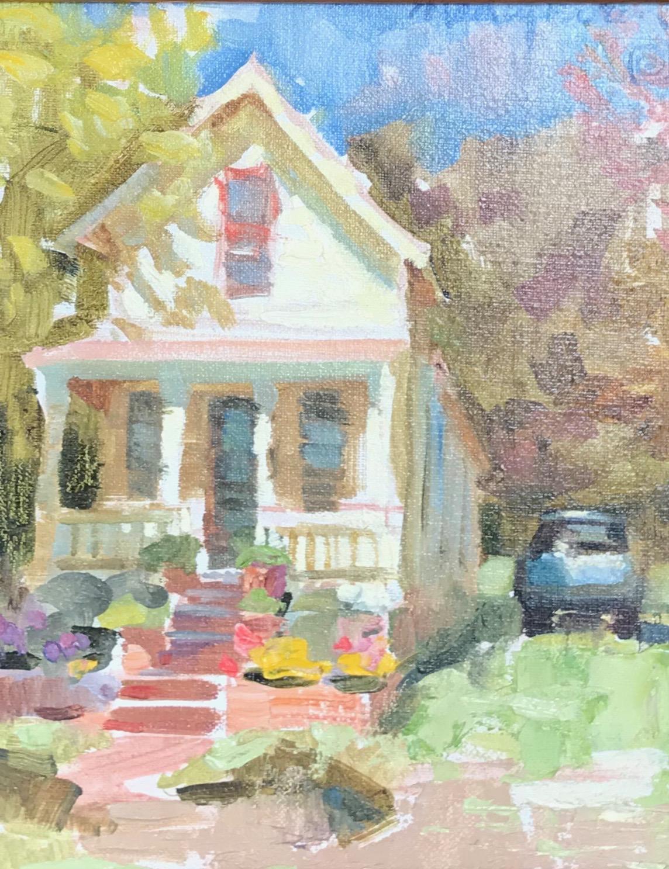 House in Fredericksburg, Plein-air