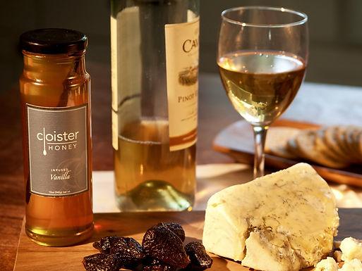 Cloister Vanilla Infused Honey