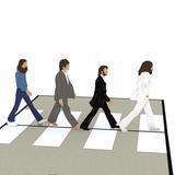 Lovepop: The Beatles Abbey Road 3 D Card