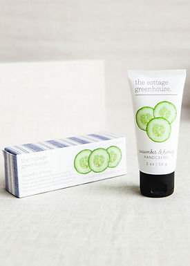 The Cottage Greenhouse Cucumber & Honey Travel Size Shea Butter Handcreme