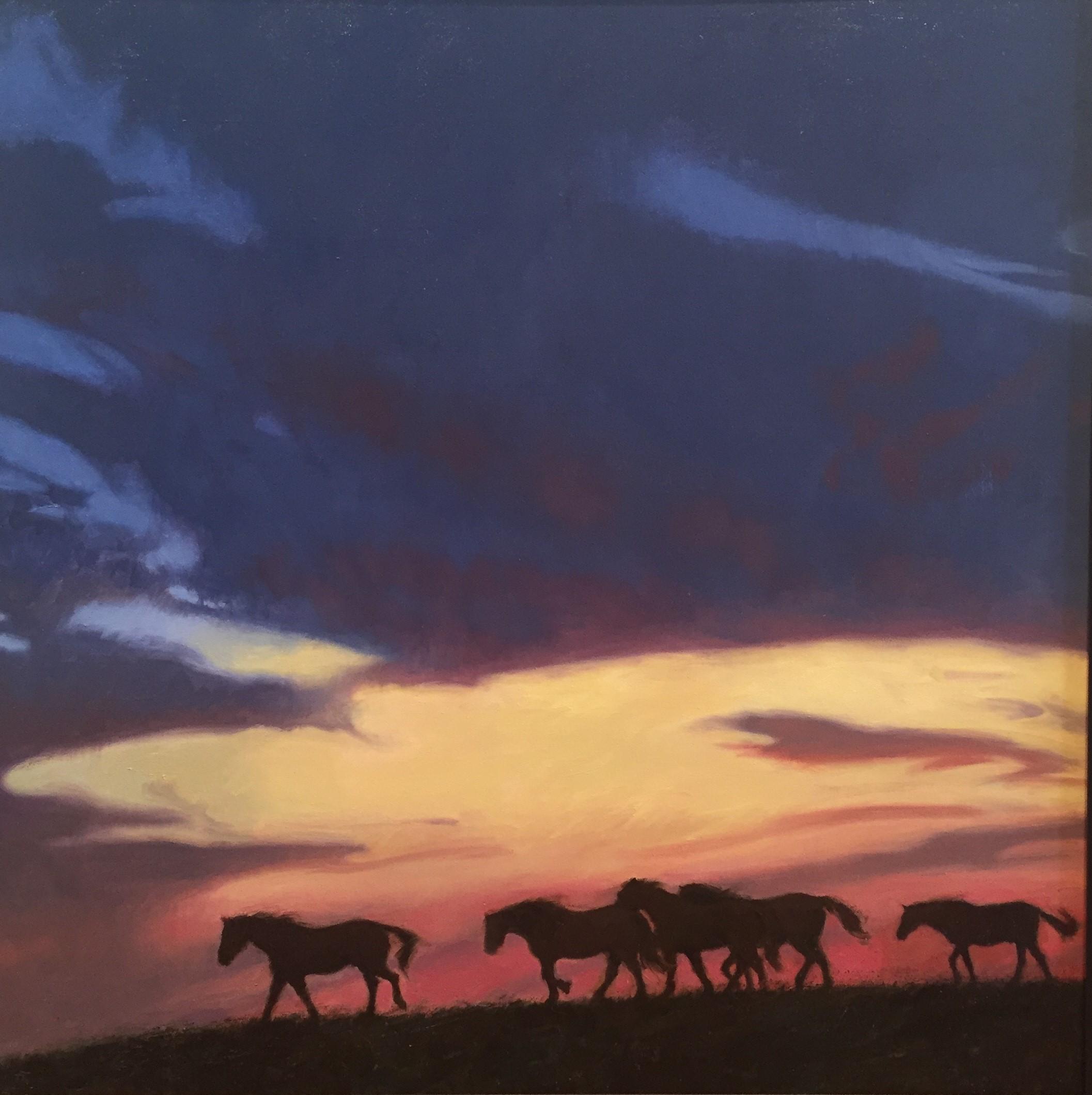Hoofbeats at Twilight