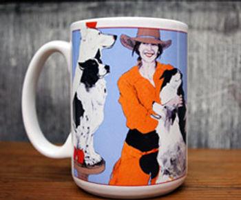 """""""All My Good Dogs"""", Mug"""