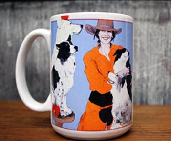 """All My Good Dogs"", Mug"