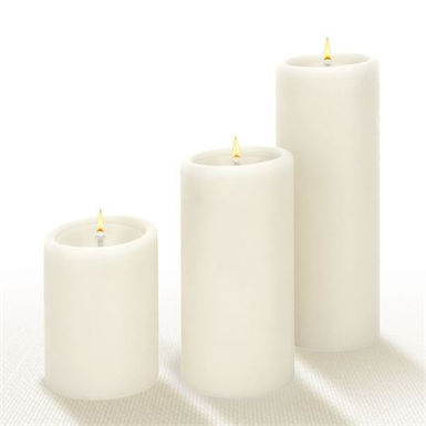 Lucid Forever Solid Pillar Candle