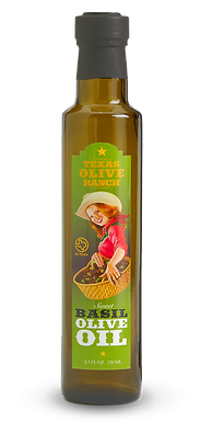 Texas Olive Ranch, Sweet Basil Infused Olive Oil