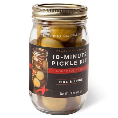 Pearl and Johnny 10-Minute Pickle Kit, 4 varieties
