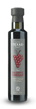 Texas Olive Ranch, Red Balsamic Vinegar (Red Grapes)