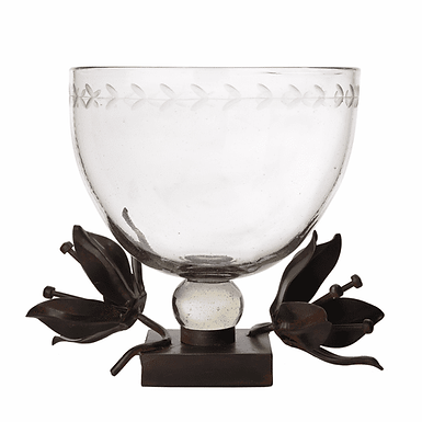 Clarity Serving Bowl -Clear