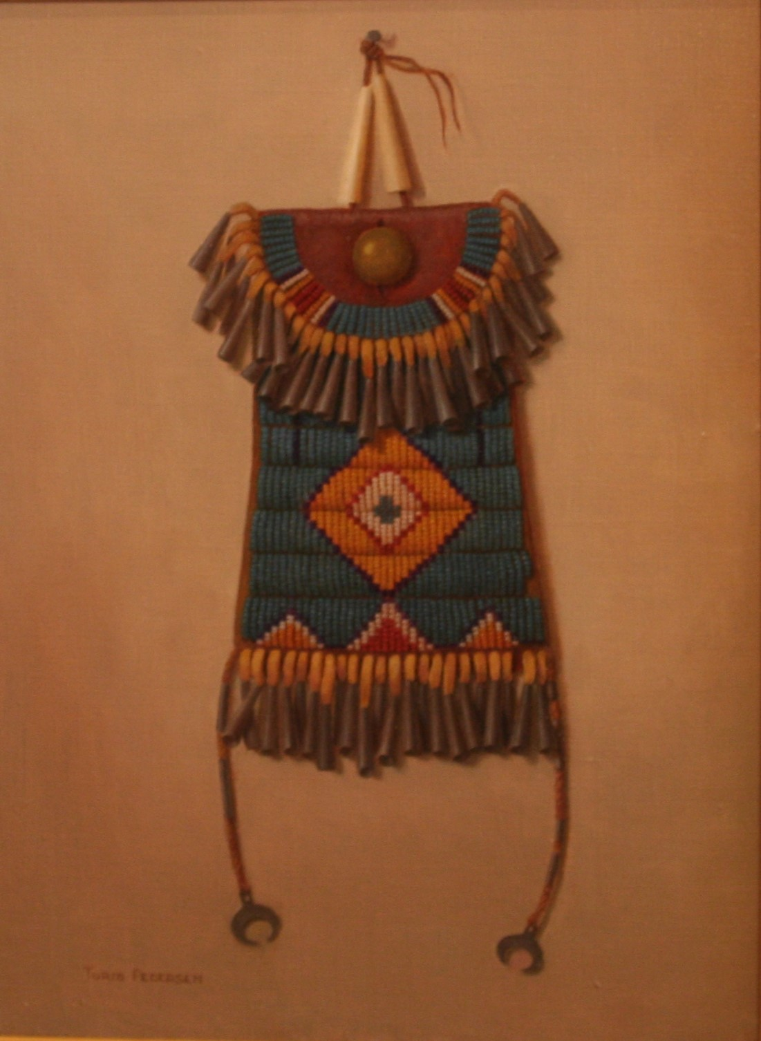 Plains Indian Strike a light beaded