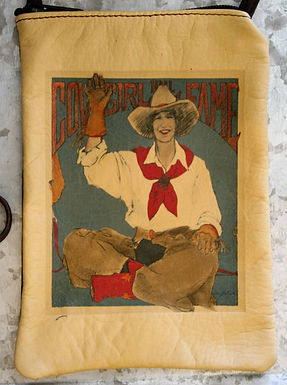 """Purse, """"Cowgirl Hall of Fame"""" (Vertical)"""