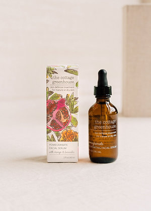 The Cottage Greenhouse Pomegranate Facial Serum