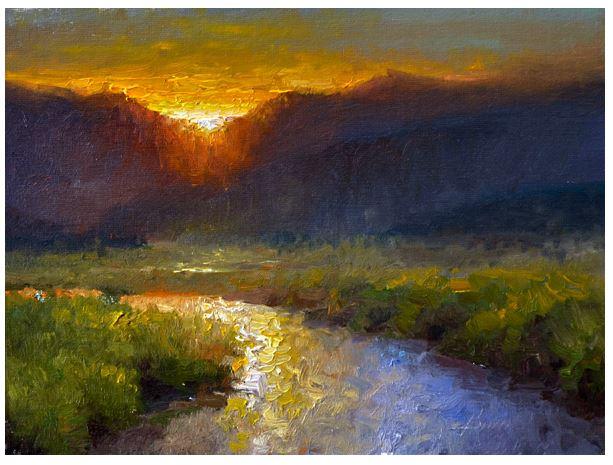 Moraine Sunset