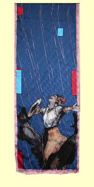 """""""Rain Dance"""", Scarf"""