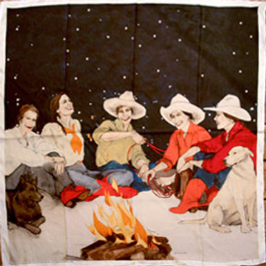 """Campfire Girls"" Scarf"