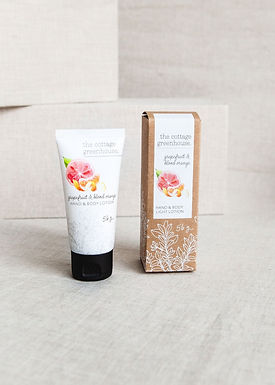 Grapefruit & Blood Orange Travel Size Hand and Body Light Lotion