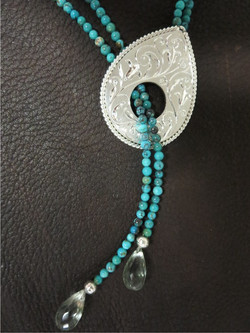 Sterling Lariat Necklace SOLD