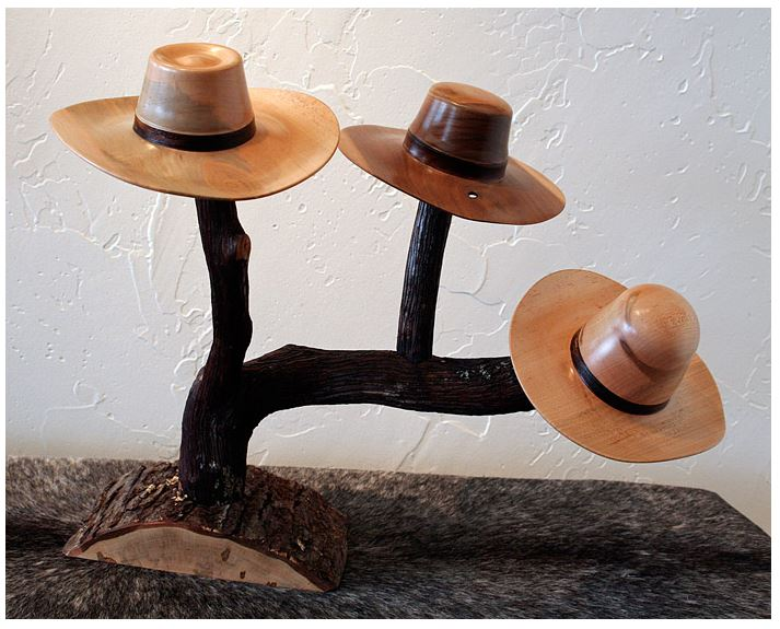 Mini Hats with Stand