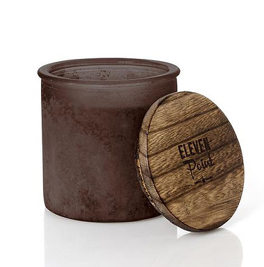 Eleven Point River Rock Candle Amber